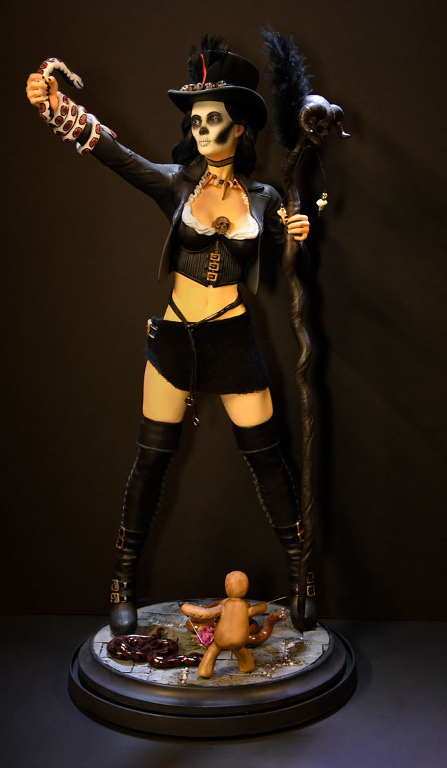 Voodoo Priestess Full Model