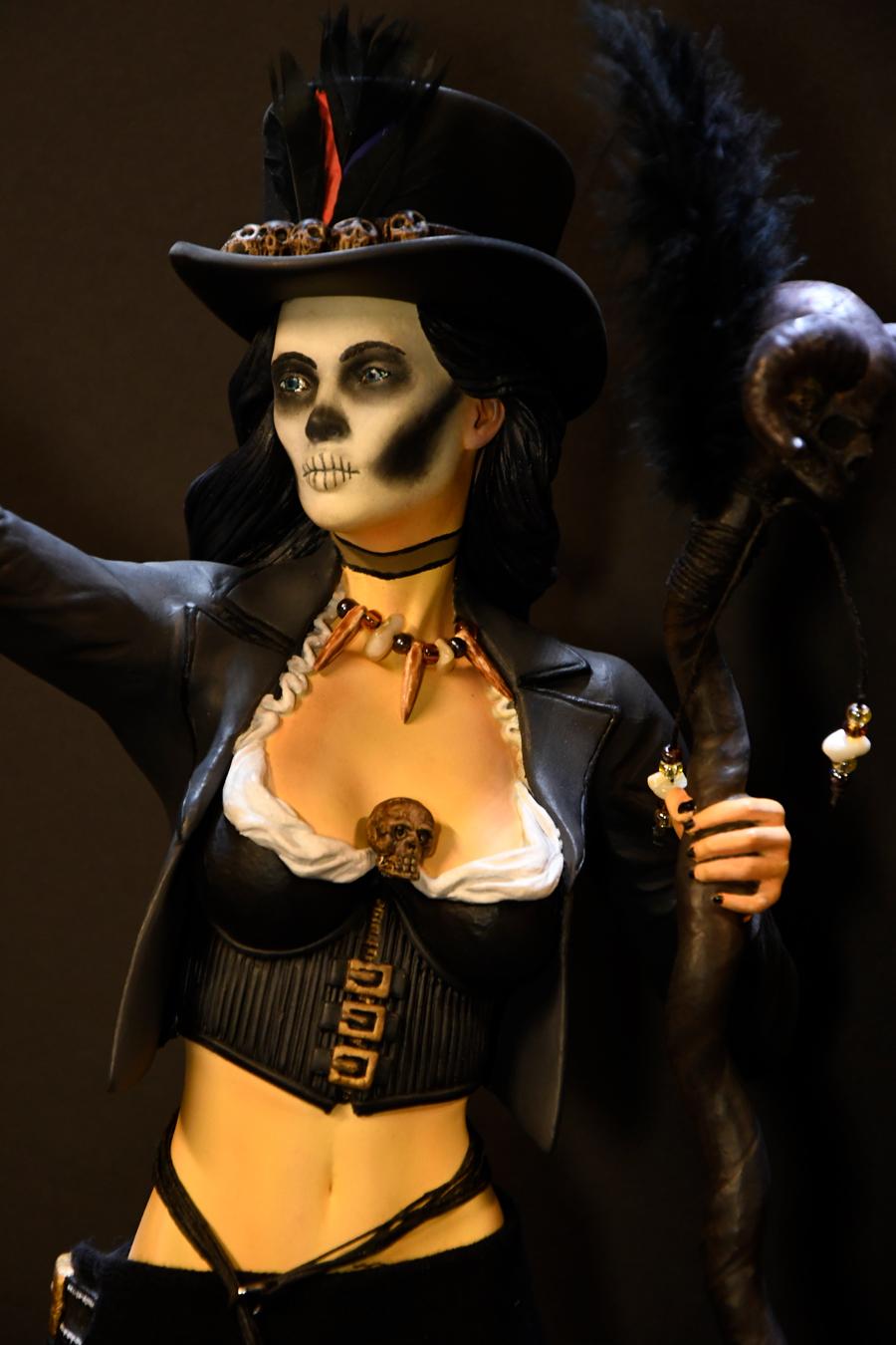 Voodoo Priestess Close Up 1