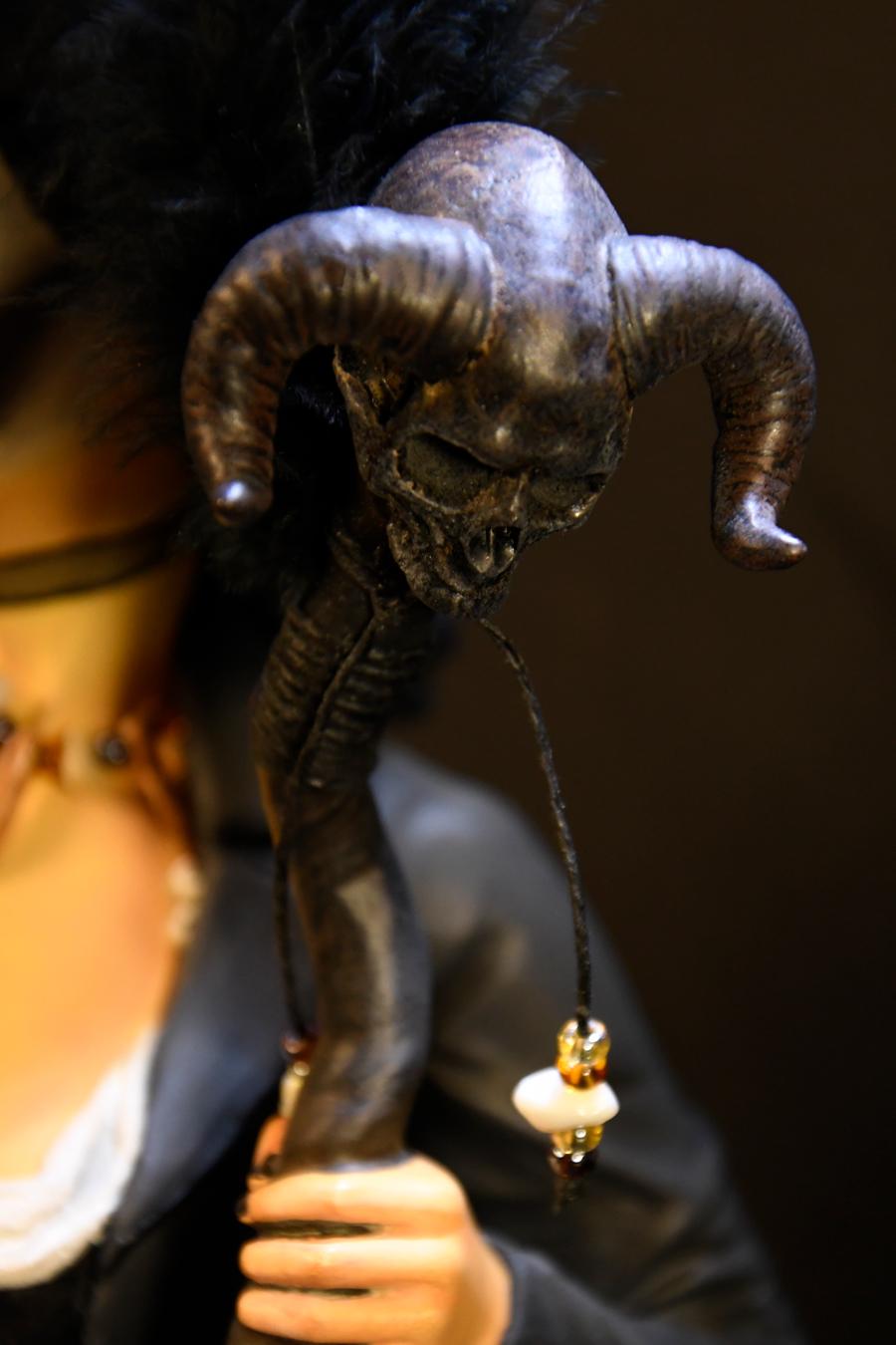 Voodoo Priestess Close Up 2