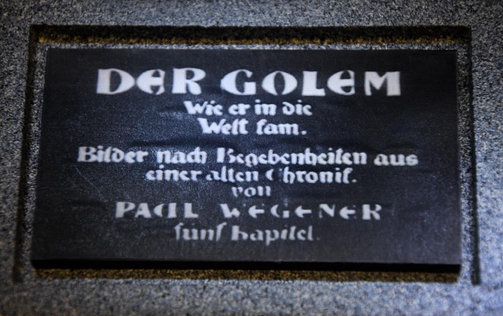 Name Plate Der Golem